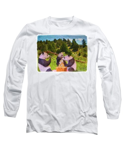 Teddy Bear Picnic Long Sleeve T-Shirt