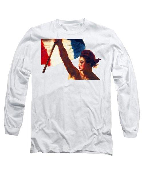 Tee Shirt Vive La France Liberty Weeps Long Sleeve T-Shirt