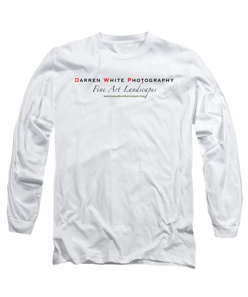 Long Sleeve T-Shirt featuring the photograph Teeshirt Logo by Darren  White