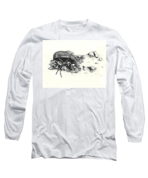 Darkling Beetle Long Sleeve T-Shirt