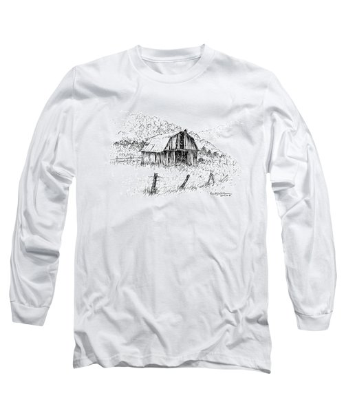 Tennessee Hills With Barn Long Sleeve T-Shirt