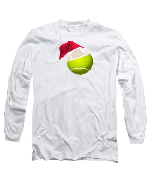 Tennis Christmas Gifts Long Sleeve T-Shirt by MGdezigns