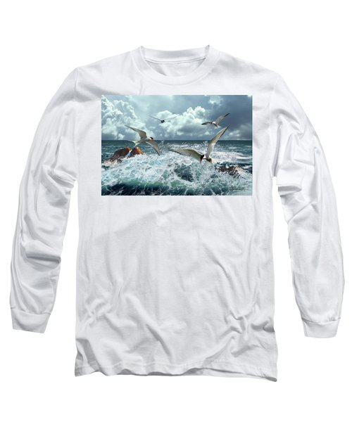 Terns In The Surf Long Sleeve T-Shirt