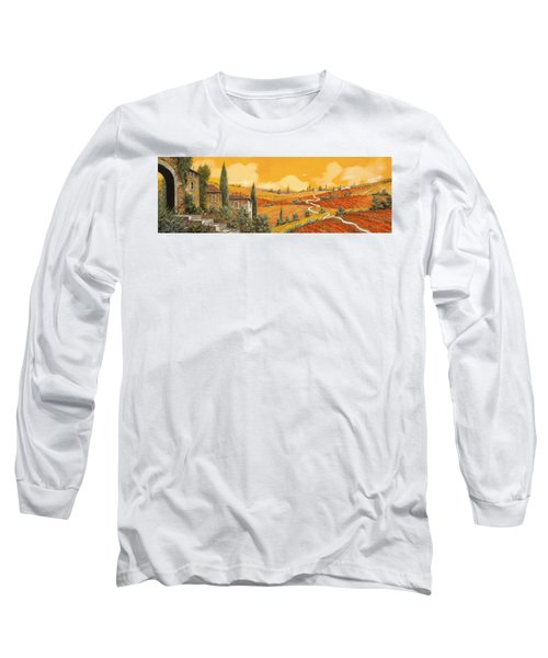terra di Siena Long Sleeve T-Shirt
