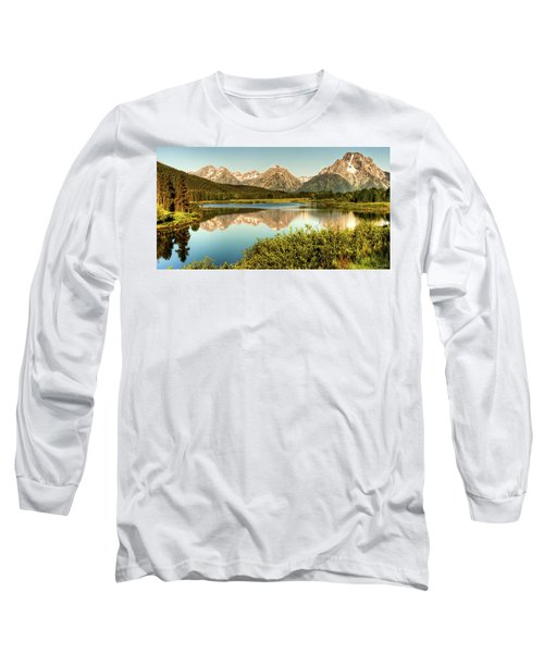 Teton Reflections Long Sleeve T-Shirt by Rebecca Hiatt
