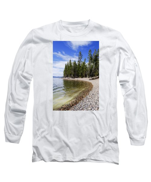Teton Shore Long Sleeve T-Shirt by Chad Dutson