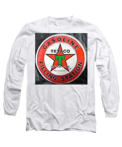 Texaco Sign Long Sleeve T-Shirt