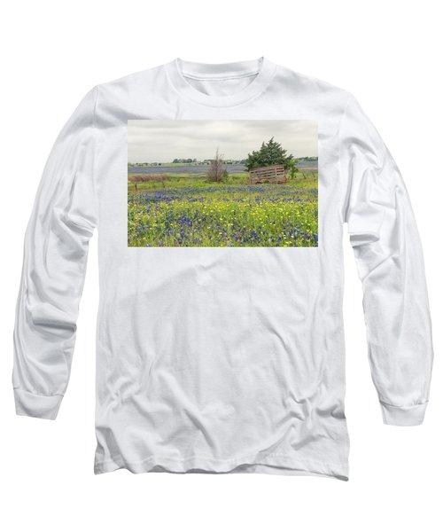Texas Bluebonnets 3 Long Sleeve T-Shirt