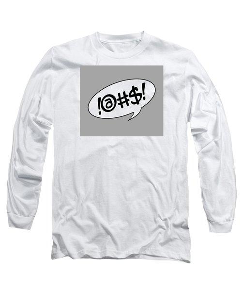 Text Bubble Long Sleeve T-Shirt