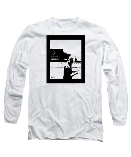 Long Sleeve T-Shirt featuring the photograph Text by Steve Godleski