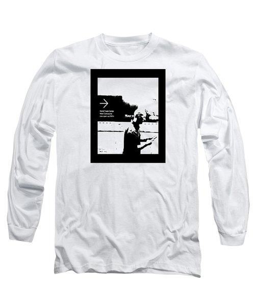 Text Long Sleeve T-Shirt