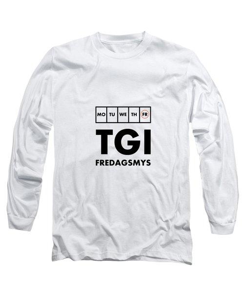Tgi Fredagsmys Long Sleeve T-Shirt