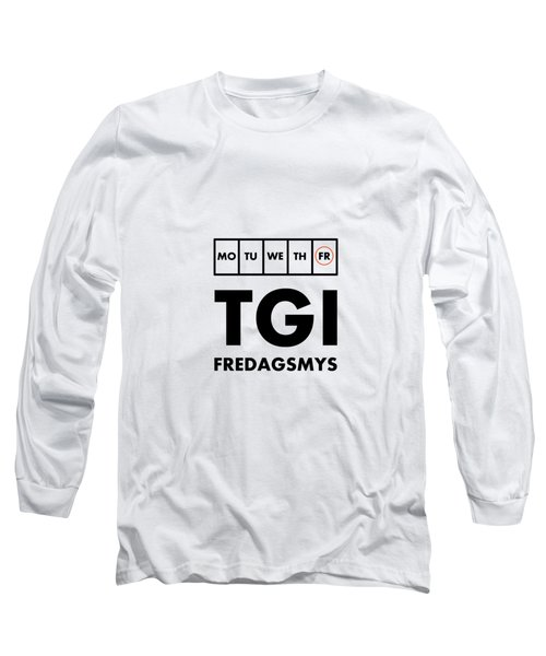 Tgi Fredagsmys Long Sleeve T-Shirt
