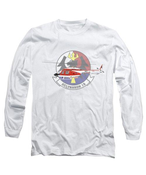 Th-57c Ht-18 Long Sleeve T-Shirt by Arthur Eggers