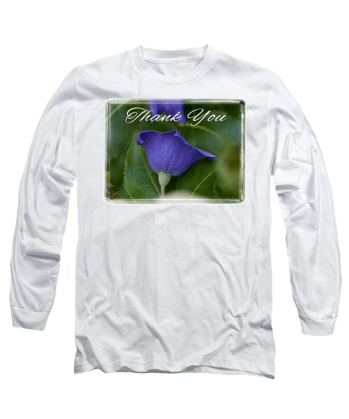 Thank You Balloon Long Sleeve T-Shirt