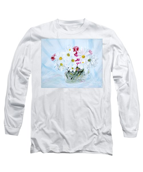 Thank You. Thank You - Je Vous Remerci Collection Of 2 Paintings Long Sleeve T-Shirt