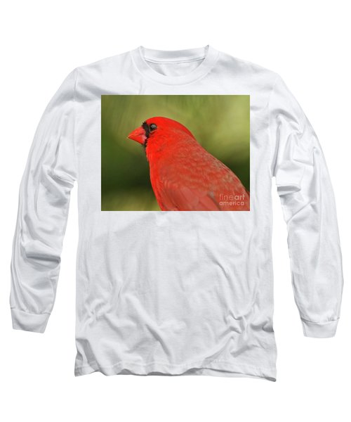 Long Sleeve T-Shirt featuring the photograph That Smiling Face by Kerri Farley