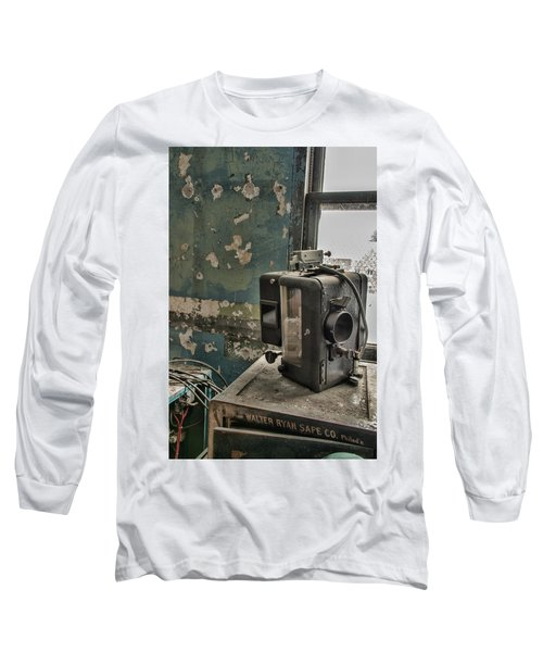 The Abandoned Projector Long Sleeve T-Shirt