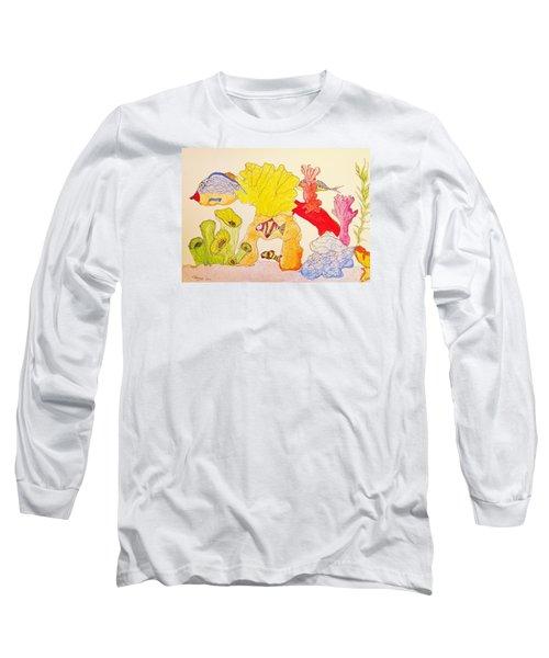 The Age Of Aquarium Long Sleeve T-Shirt by Rand Swift