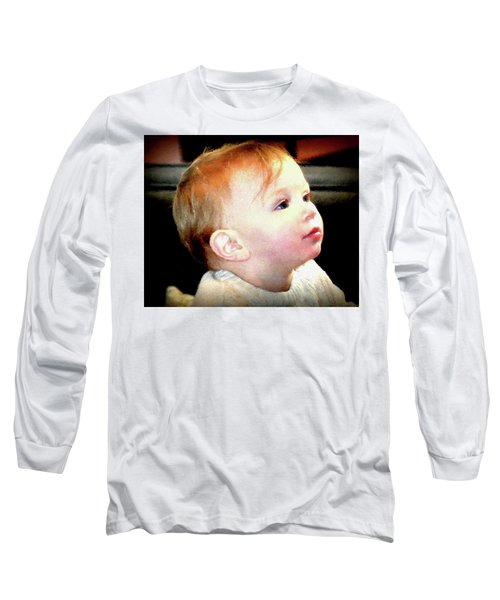 Long Sleeve T-Shirt featuring the photograph The Age Of Innocence by Barbara Dudley
