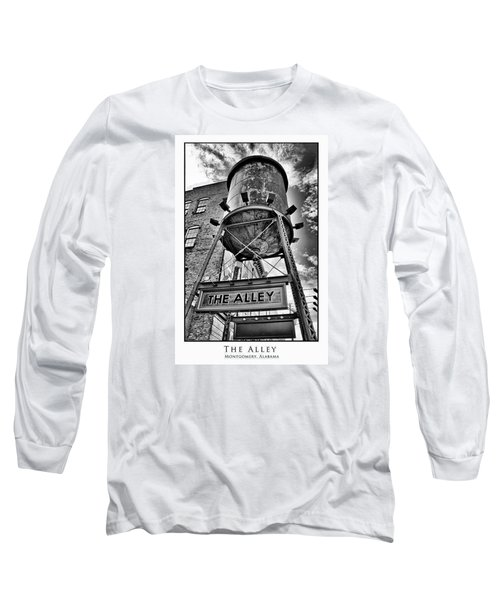 Long Sleeve T-Shirt featuring the digital art The Alley  by Greg Sharpe