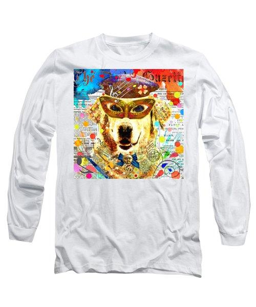 Dog Artist Long Sleeve T-Shirt