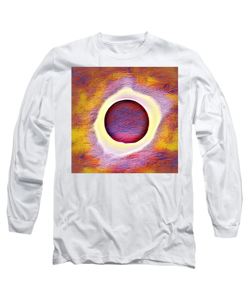 The Aura Of The Eclipse Long Sleeve T-Shirt