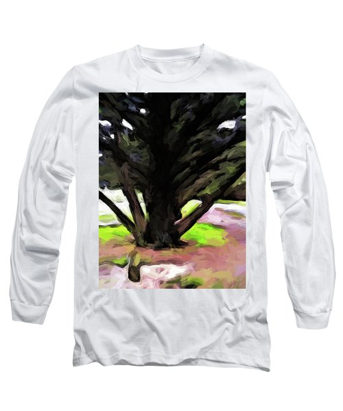 The Avenue Of Trees 1 Long Sleeve T-Shirt