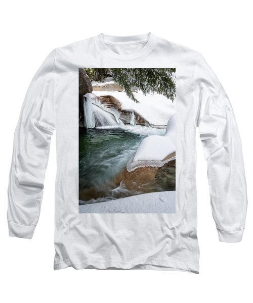 The Basin Side View Nh Long Sleeve T-Shirt