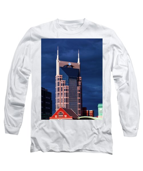 The Batman Building - Nashville Long Sleeve T-Shirt