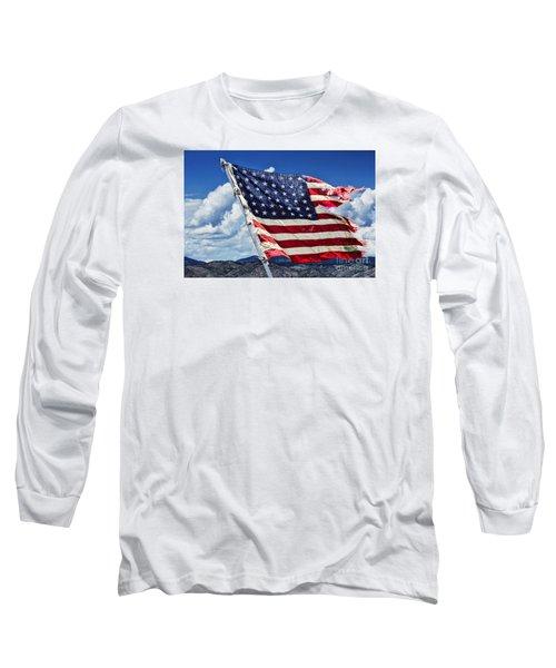 The Battles I Have Seen Long Sleeve T-Shirt by Steven Parker