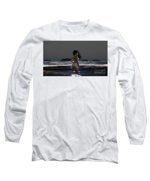 The Beach 4 Long Sleeve T-Shirt