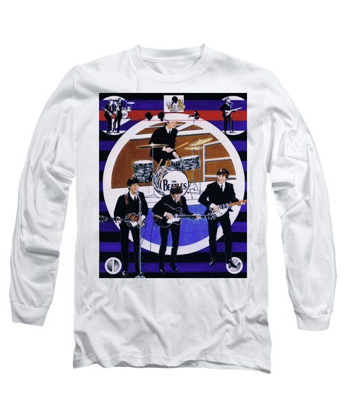The Beatles - Live On The Ed Sullivan Show Long Sleeve T-Shirt