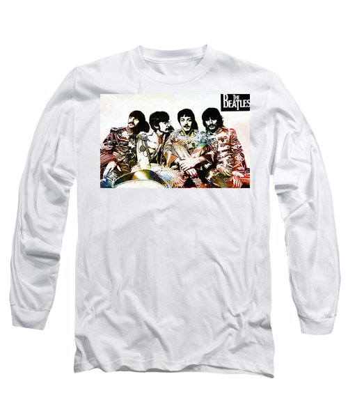 The Beatles--sargent Peppers Lonely Hearts Club Band Long Sleeve T-Shirt