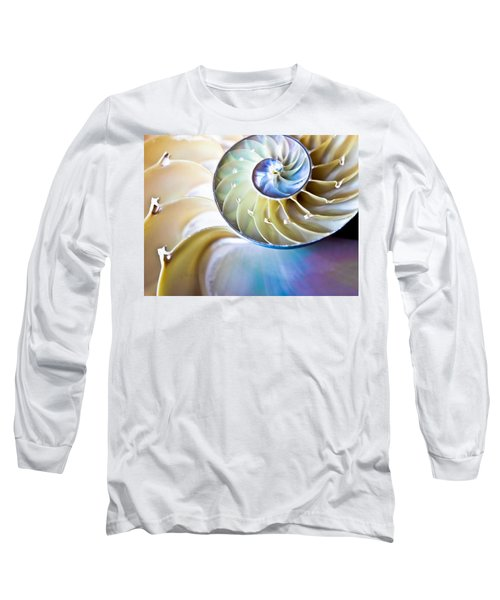 The Beauty Of Nautilus Long Sleeve T-Shirt