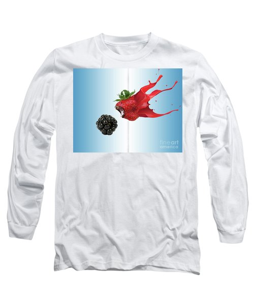 Long Sleeve T-Shirt featuring the photograph The Berries by Juli Scalzi