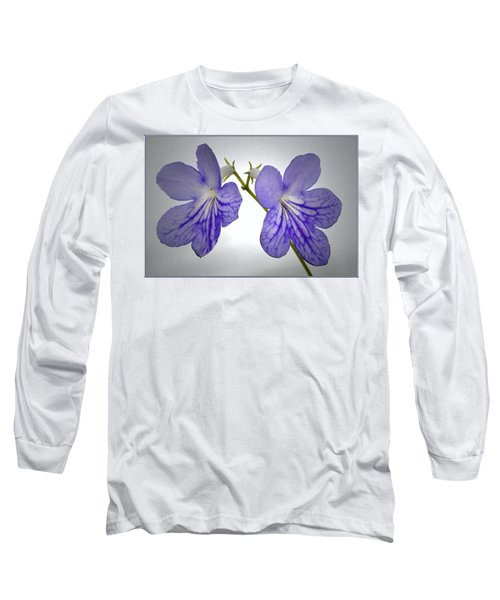 Long Sleeve T-Shirt featuring the photograph The Betham Twins. by Terence Davis