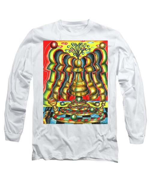 The Birth Of A Strategy Long Sleeve T-Shirt