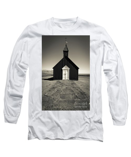 Long Sleeve T-Shirt featuring the photograph The Black Church by Edward Fielding