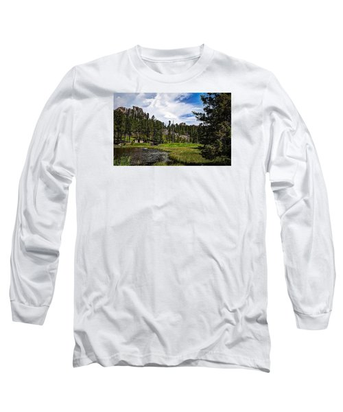 Long Sleeve T-Shirt featuring the photograph The Black Hills Of Custer State Park by Deborah Klubertanz