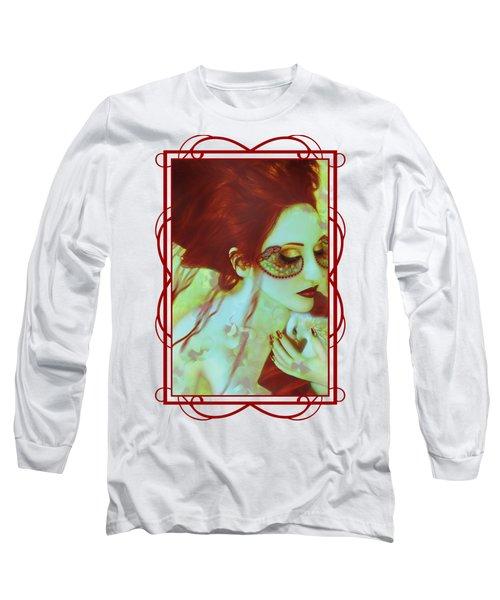 The Bleeding Dream - Self Portrait Long Sleeve T-Shirt
