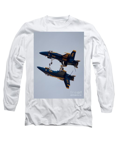The Blue Angels Flying Over The Another Long Sleeve T-Shirt