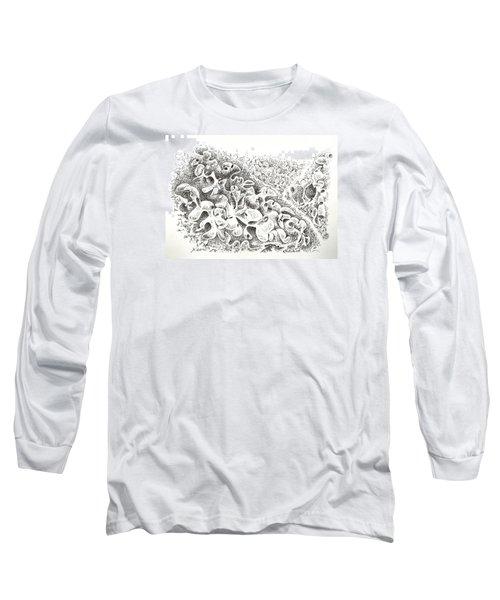The Boneyard Of Unused Shapes Long Sleeve T-Shirt