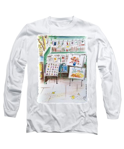 The Bouquinistes Of Paris Long Sleeve T-Shirt