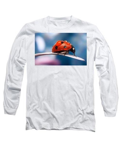 The Bug Long Sleeve T-Shirt by Thomas M Pikolin