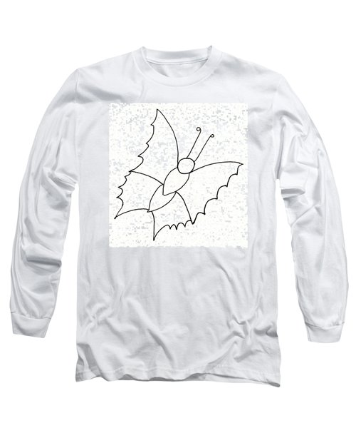 The Butterfly With No Spots Long Sleeve T-Shirt