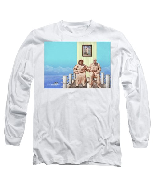 The Cadburys On Vacation Long Sleeve T-Shirt by Marty Garland