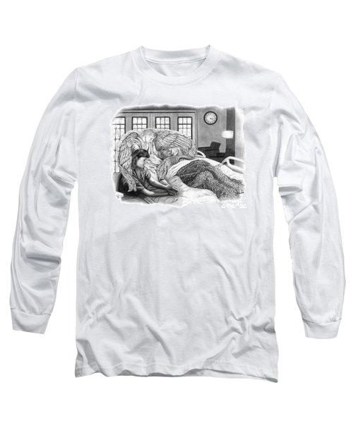 The Caregiver Long Sleeve T-Shirt by Peter Piatt