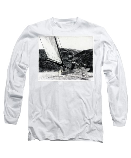 The Cat Boat Long Sleeve T-Shirt