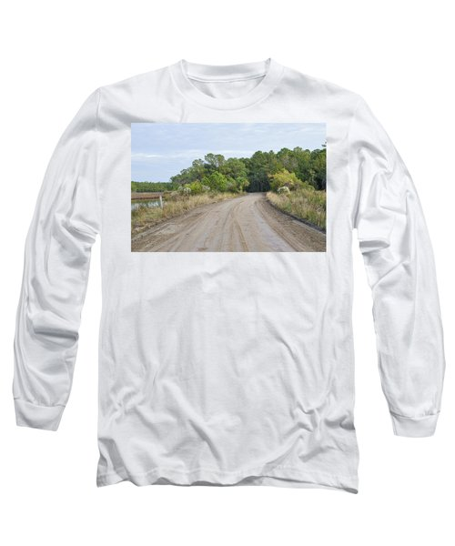 The Causway On Chisolm Island Long Sleeve T-Shirt